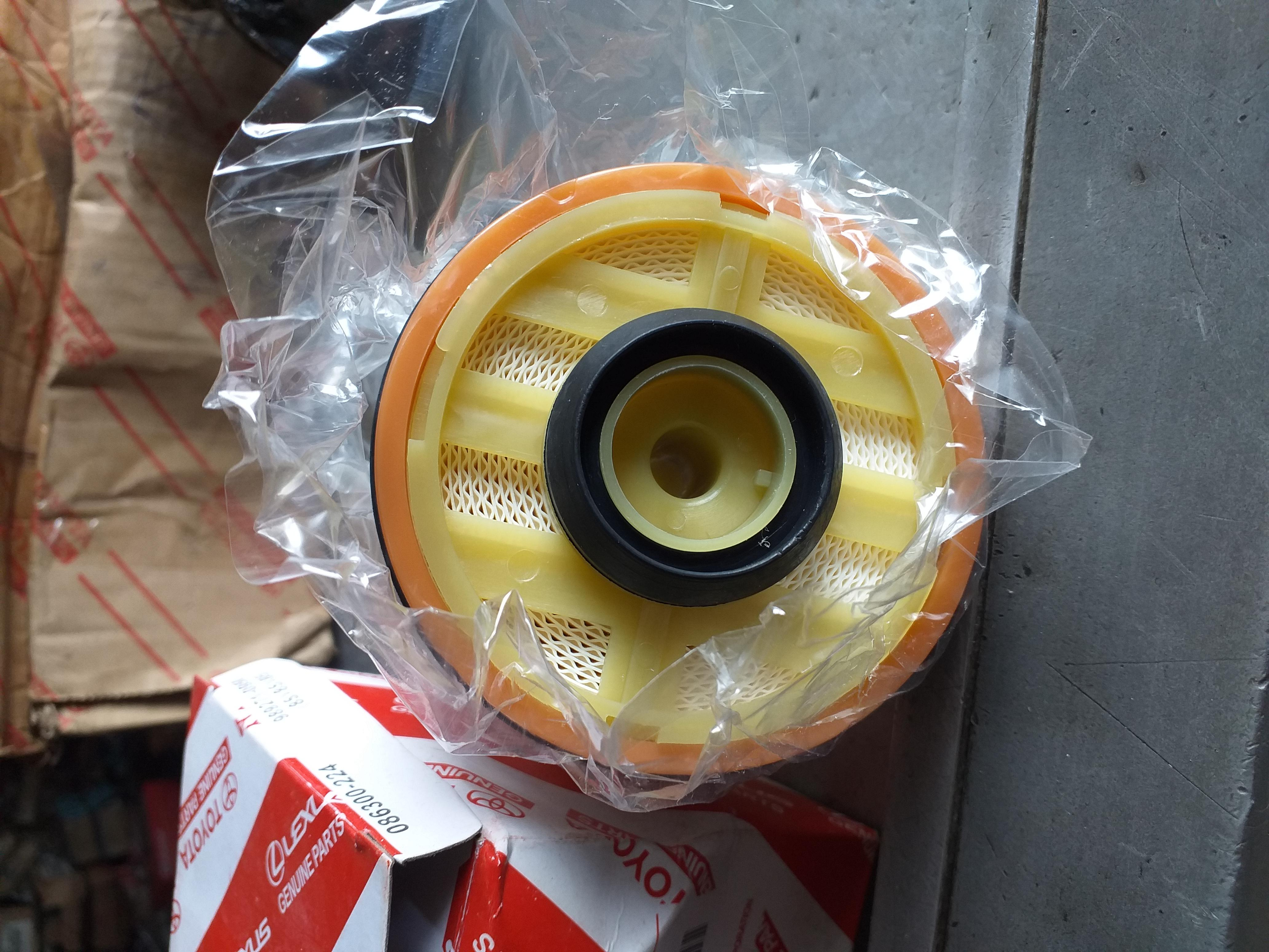 new toyota fuel filter