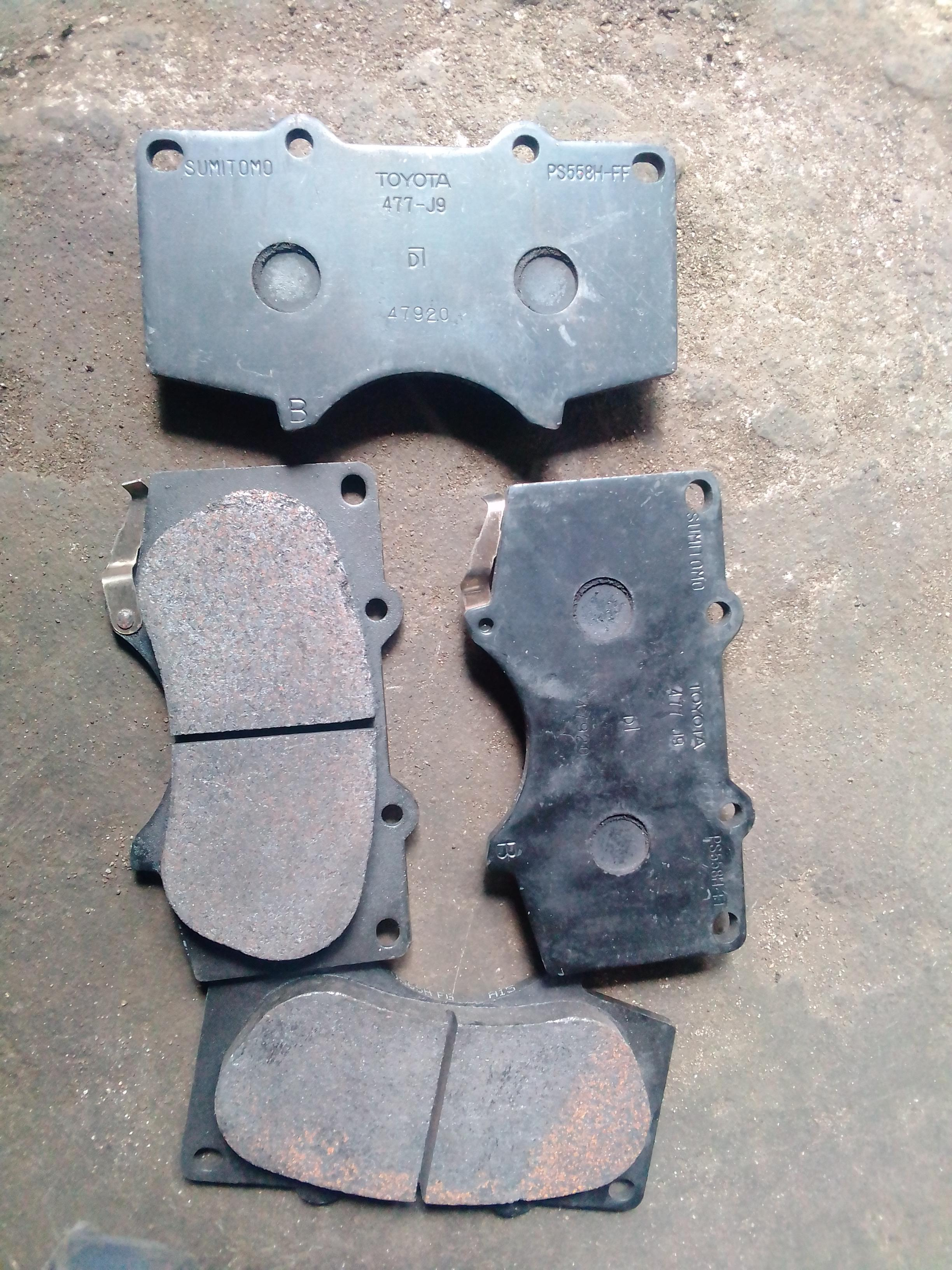 NEW TOYOTA BRAKE PAD SET