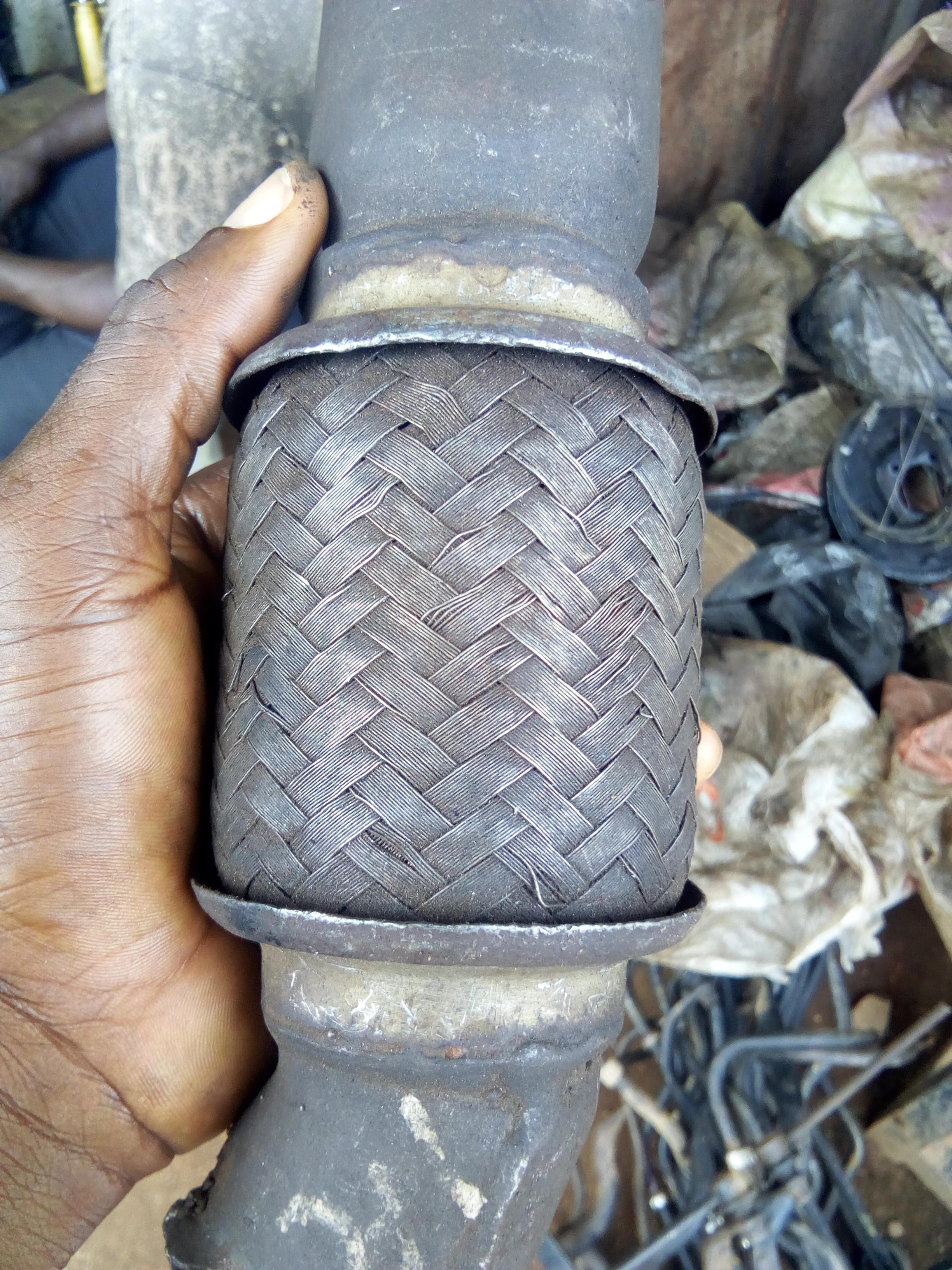 FAIRLY USED EXHAUST NET