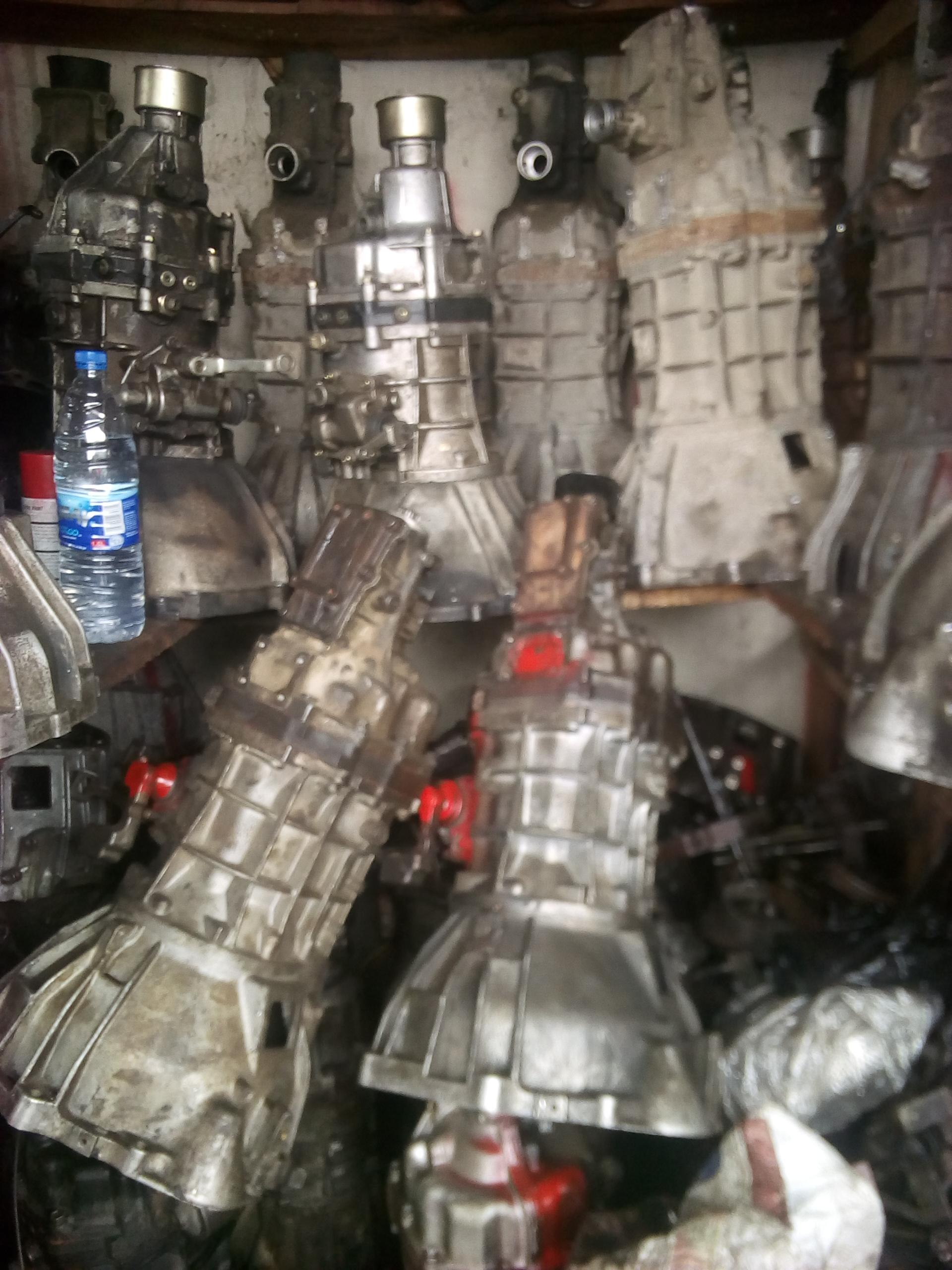 authentic europe used gear box