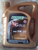 NEW HARDEX 5LITRES  ENGINE OIL