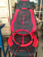 NEW GENERIC FOOTMAT WITH SEAT COVERS